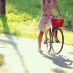 自転車こいで太陽を目指して♪